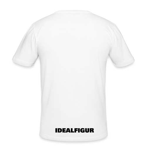 dance bebeh - Slim Fit T-skjorte for menn