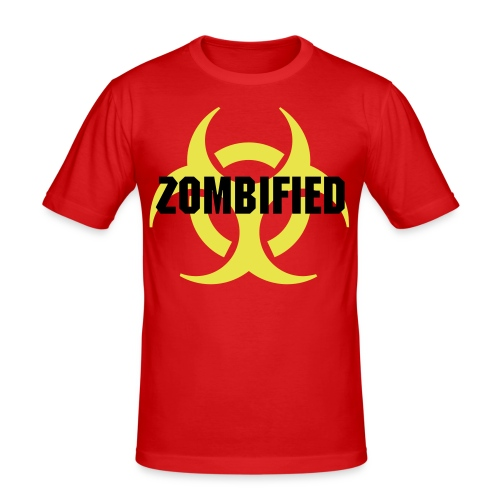 Infected! - Slim Fit T-shirt herr