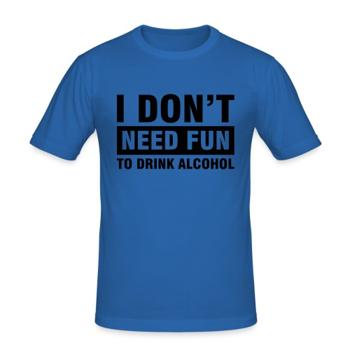 Alcoholfun? - Slim Fit T-shirt herr