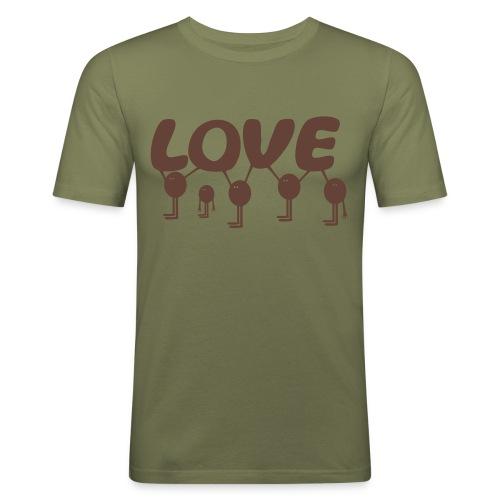 Love - Men's Slim Fit T-Shirt