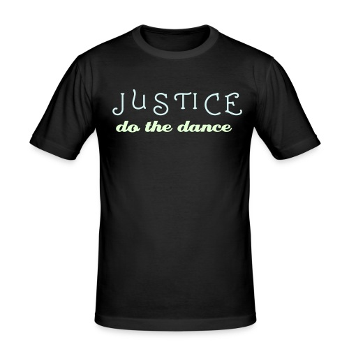 JUSTICE - DO THE DANCE - Maglietta aderente da uomo