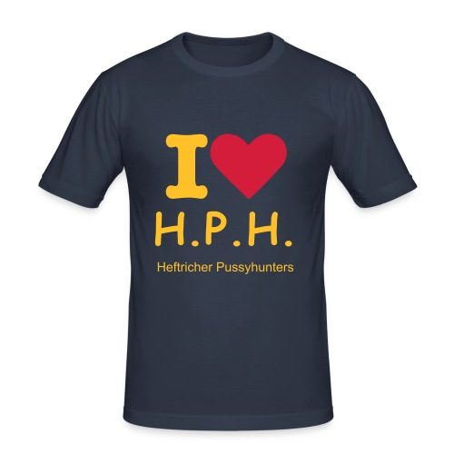 I love H.P.H. - Männer Slim Fit T-Shirt