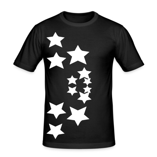 Starrz - Männer Slim Fit T-Shirt