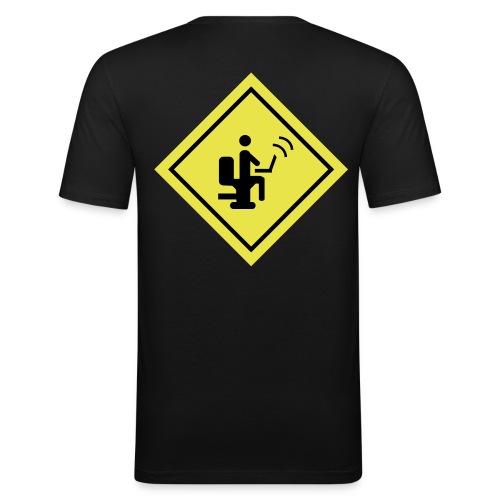 Geek - Camiseta ajustada hombre