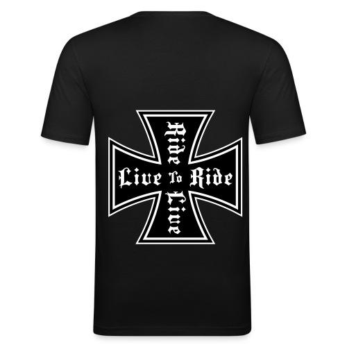bestseller - Obcisła koszulka męska