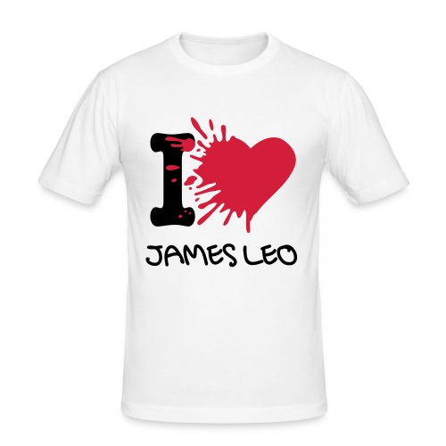 I Heart JL T-Shirt - Men's Slim Fit T-Shirt