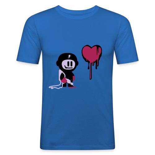 MAGLIA LOVE SPRAYER - Maglietta aderente da uomo