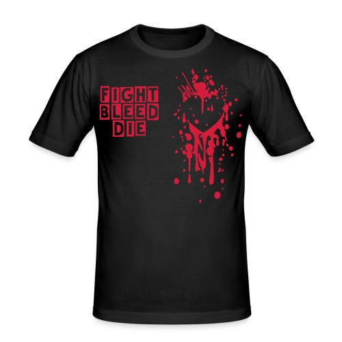 Bleeding Heart shirt - Men's Slim Fit T-Shirt