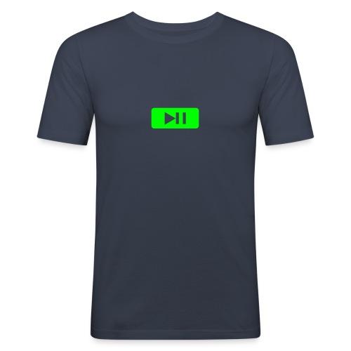 Super Schirm - Männer Slim Fit T-Shirt