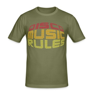 Disco Music Rules - slim fit T-shirt
