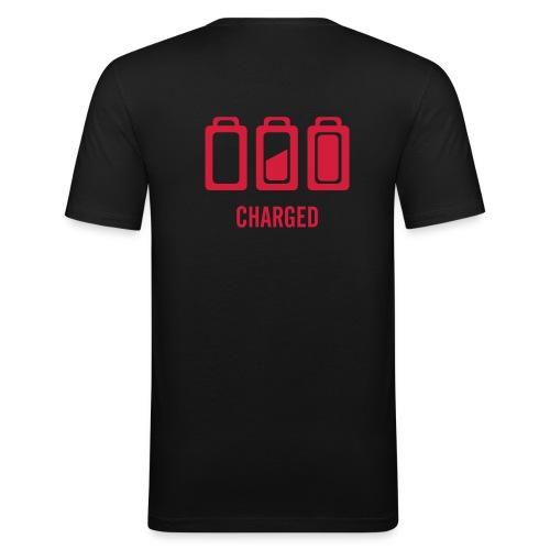 Branché - T-shirt près du corps Homme