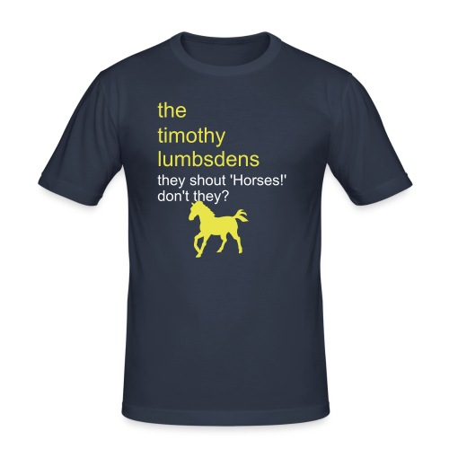 timothy lumbsden #1 - Men's Slim Fit T-Shirt