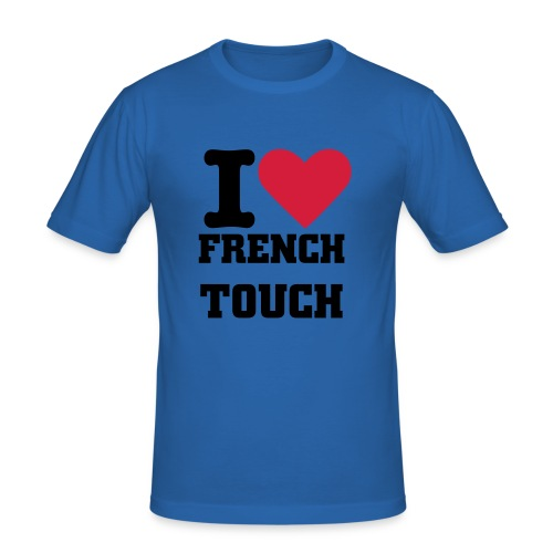 FRENCH TOUCH - Männer Slim Fit T-Shirt