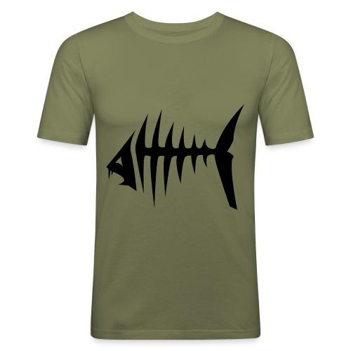Arrete..... - T-shirt près du corps Homme