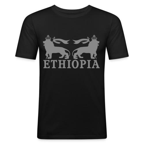 ETHIOPIA ARGENT - T-shirt près du corps Homme
