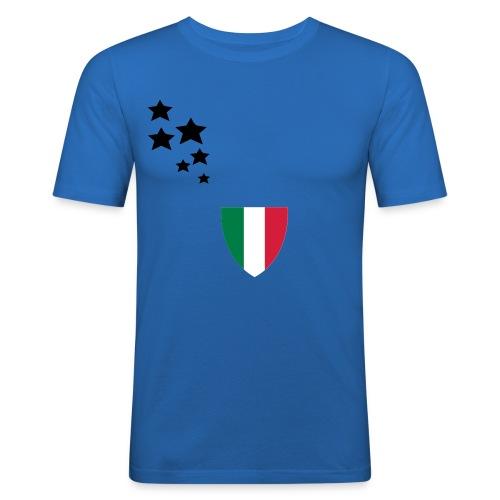 Gli Azzurri - Männer Slim Fit T-Shirt