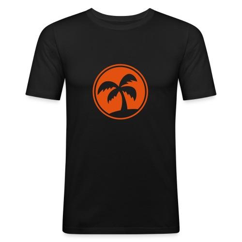 Palm - Men's Slim Fit T-Shirt