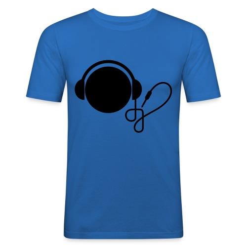 DJ (fås i flere farver) - Herre Slim Fit T-Shirt