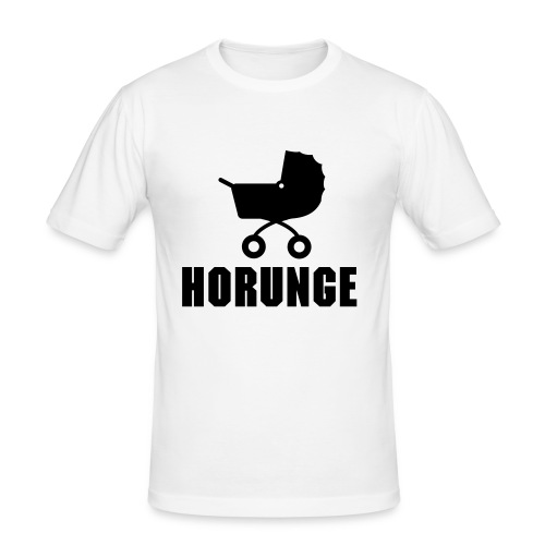Horunge - Slim Fit T-shirt herr