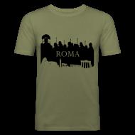 Camisetas ~ Camiseta ajustada hombre ~ Camiseta Hombre Ajustada Basis Roma
