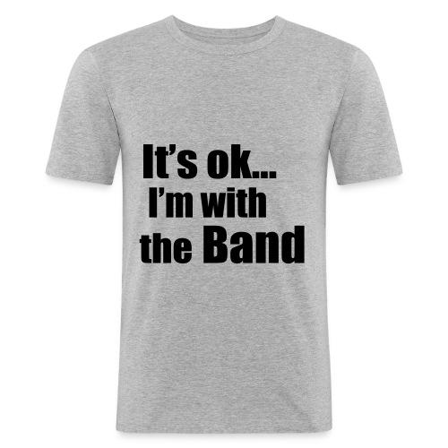 im with the band t.shorte for men - Slim Fit T-skjorte for menn
