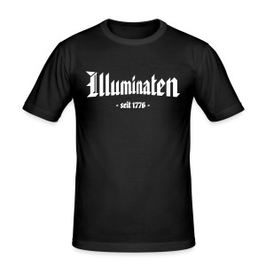 Slim Fit T-Shirt Illuminaten - Männer Slim Fit T-Shirt