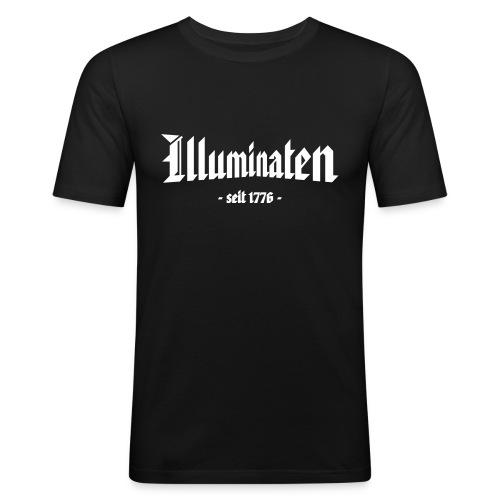 Slim Fit T-Shirt Illuminaten - Männer Slim Fit T-Shirt