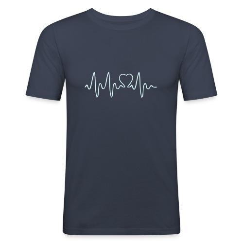 CAMISETA ELECTROCARDIOGRAMA  - Camiseta ajustada hombre