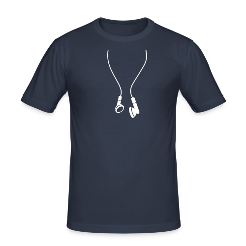 Headphones - Men's Slim Fit T-Shirt