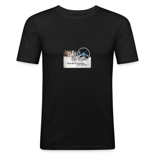 MKlang Slim Fit Shirt - Männer Slim Fit T-Shirt