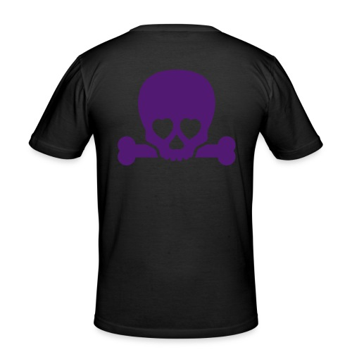 Skull of Love - Men's Slim Fit T-Shirt