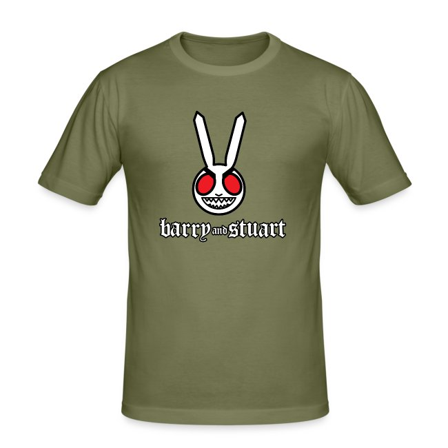 B&S Evil Bunny: Men's Fitted Tee