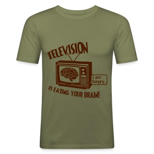 Television Slim-Fit T-shirt - Men's Slim Fit T-Shirt