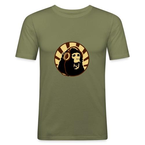 monkey - T-shirt près du corps Homme