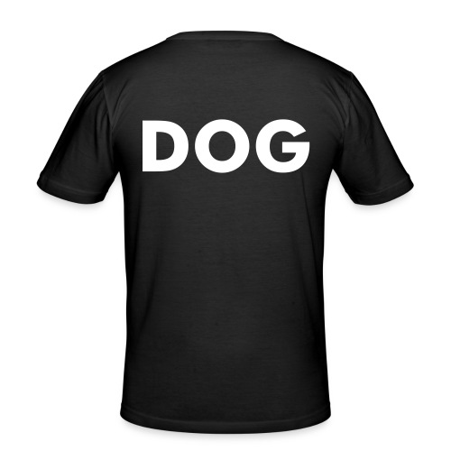 T-shirt DOG - Men's Slim Fit T-Shirt