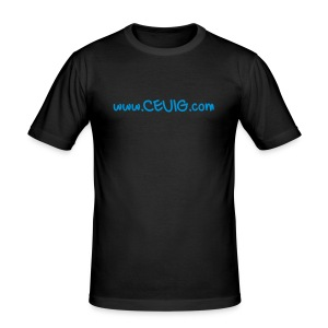 CEUIG T-Shirt - Black - Men's Slim Fit T-Shirt