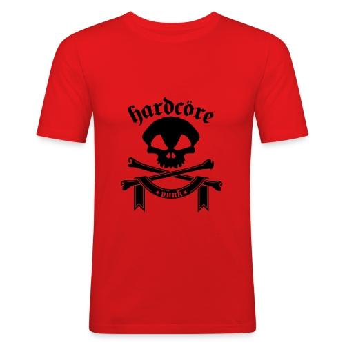 T-Shirt Hardcore  - Männer Slim Fit T-Shirt