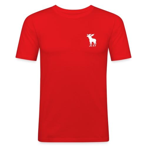 Norprofil trykk 2 - Slim Fit T-skjorte for menn