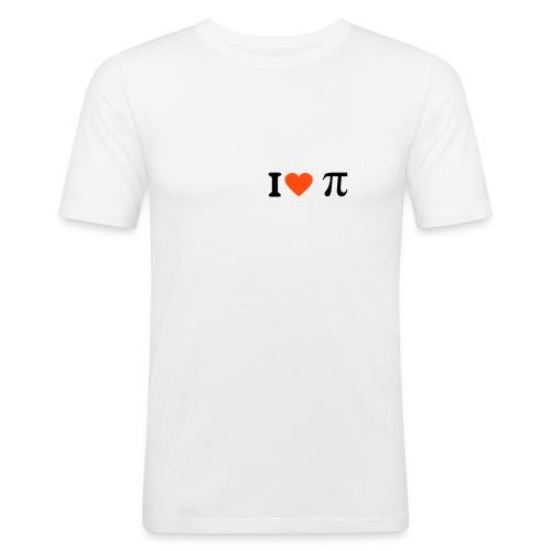 I love Pi - Slim Fit T-shirt herr