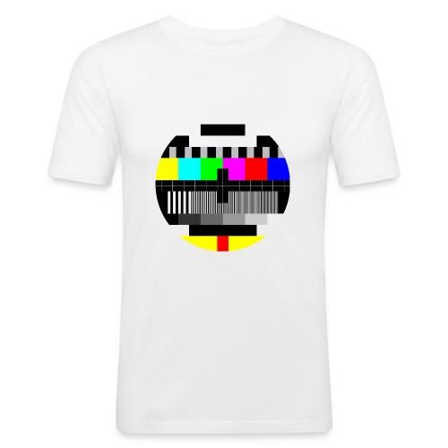 TV - Slim Fit T-shirt herr