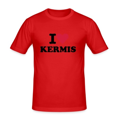 slim fit T-shirt - I love kermis