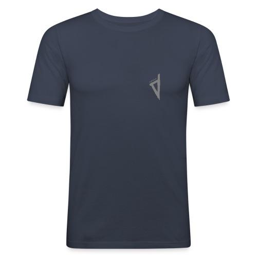 T-Shirt bleu Homme Corsica - T-shirt près du corps Homme
