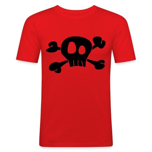 Skull - Männer Slim Fit T-Shirt