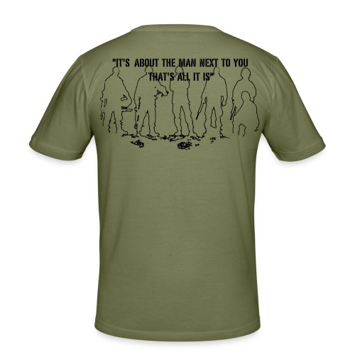 T-shirt It's about the.. - Slim Fit T-shirt herr