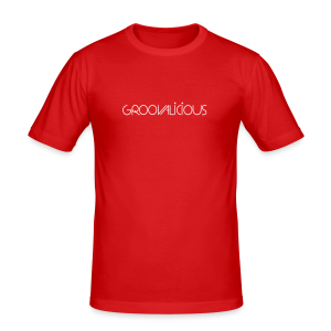 Groovalicious 2012 Shirt - Männer Slim Fit T-Shirt
