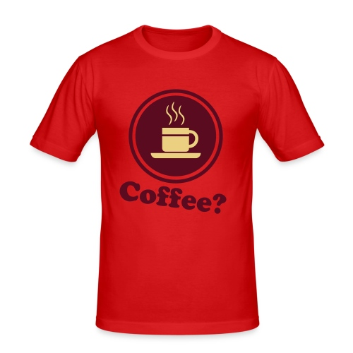 coffee? tee - Men's Slim Fit T-Shirt