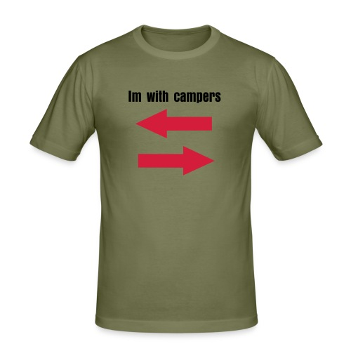 surroundedbycampers - Slim Fit T-shirt herr