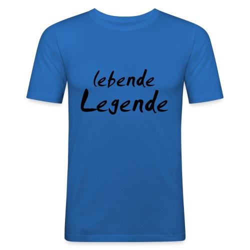 lebende Legende - Männer Slim Fit T-Shirt
