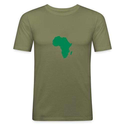 Africa - Obcisła koszulka męska