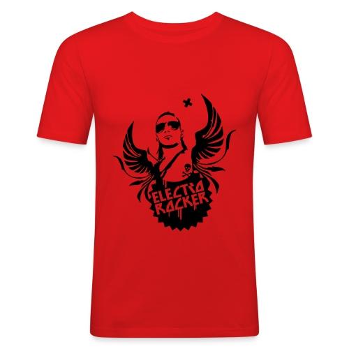 Electro Rocker - Männer Slim Fit T-Shirt